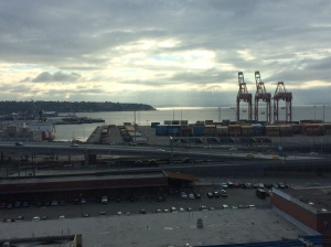 View behind Safeco Field