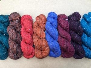 Tweed DK in new 2014 colors